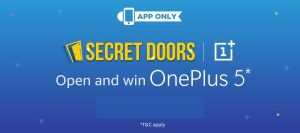 OnePlus 5 Being Offered to Winners of Amazon India's 'Secret Doors' Contest