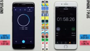 OnePlus 5 Seen Beating iPhone 7 Plus in New Speed Test Video