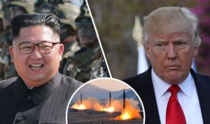 North Korea vows to 'sharpen its nuclear sword' in WORLD WAR 3 threat to USA