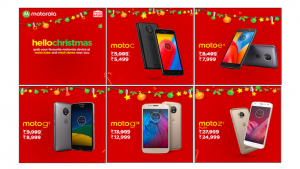 Moto G5, Moto G5s Plus, Moto Z2 Play, Moto E4, and Other Moto Smartphones Get Limited Period Discounts in India