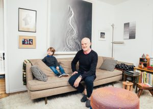 A Tour of a Design Dealer's Small Apartment in Chelsea