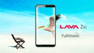 Lava Z91 With 18:9 Display, Face Unlock Launched in India: Price, Specifications