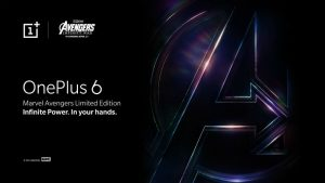 OnePlus 6 x Marvel Avengers Limited Edition Will Launch in India on May 17