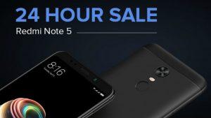 Redmi Note 5 Available in 24-Hour Open Sale Today via Mi.com