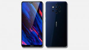 Nokia 9 Concept Render Shows a Display Notch, Penta-Lens Camera Setup