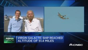 Virgin Galactic flies its first astronauts to the edge of space, taking one step closer to space tourism