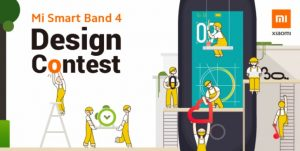 Design a wallpaper for the Xiaomi Mi Band 4 and you can win a free band