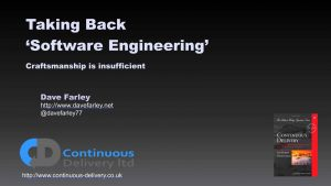 Taking Back Software Engineering