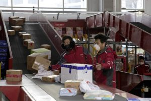 Chinese turn to internet for food supplies amid coronavirus fears